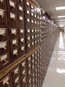 LOC - card catalogs